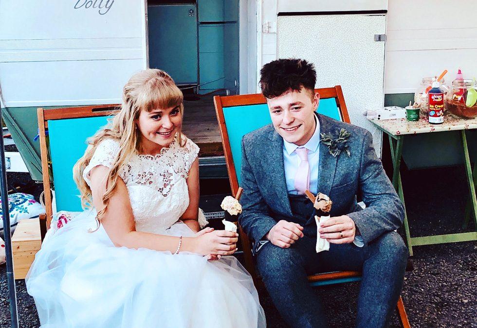 Lauren and Sam's wedding
